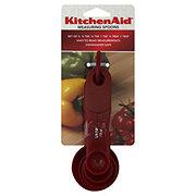 KitchenAid Red Measuring Spoons Set