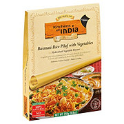 Kitchens of India Vegetarian Basmati Rice Pilaf with Vegetables