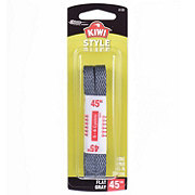 Kiwi Flat Laces, Gray, 45 in