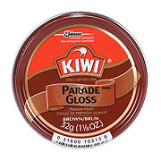 Kiwi Parade Gloss Brown Shoe Polish