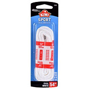 Kiwi Sport Oval Laces, White, 54 in