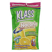 Klass Naranja Orange Drink Mix