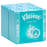 Kleenex Cool Touch Facial Tissues Cube