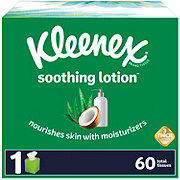 Kleenex Soothing Lotion Facial Tissue Cube