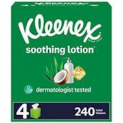 Kleenex Soothing Lotion Facial Tissues 4 pk