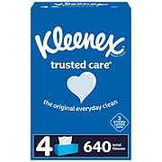Kleenex Trusted Care Facial Tissue, 4 pk