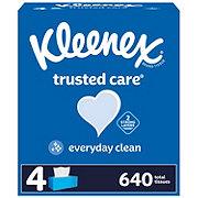 Kleenex Trusted Care Facial Tissues 4 pk