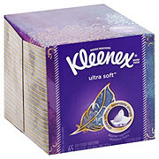Kleenex Ultra Soft Facial Tissues Cube