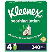 Kleenex With Lotion Facial Tissue