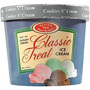 Klein's Classic Treat Cookies and Cream Ice Cream