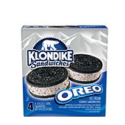 Klondike Oreo Ice Cream Cookie Sandwiches