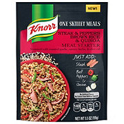 Knorr One Skillet Meals Steak & Peppers Brown Rice & Quinoa