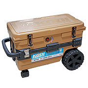 KODI All Terrain 50 qt  Brown Wheeled Cooler