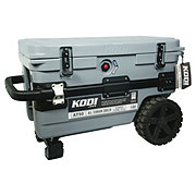 KODI All Terrain 50 quart Gray Wheeled Cooler