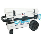 KODI All Terrain 50qt Wheeled White Cooler