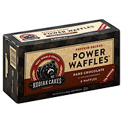 Kodiak Cakes Dark Chocolate Power Waffles
