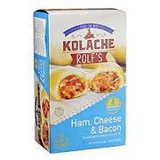 Kolache Rolf's Ham, Cheese & Bacon