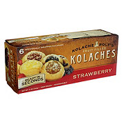 Kolache Rolf's Strawberry Kolaches
