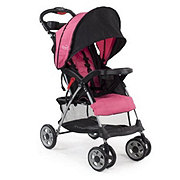 Kolcraft Cloud Plus Lightweigh Stroller, Fuschia