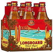 Kona Longboard Island Lager  Beer 12 oz  Bottles