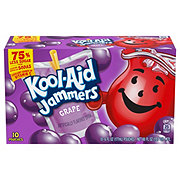 Kool-Aid Jammers Grape Flavored Drink 6 oz Pouches
