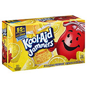 Kool-Aid Jammers Lemonade Flavored Drink 10 PK