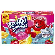 Kool-Aid Jammers Sharkleberry Fin Strawberry Orange Punch Drink 6 oz Pouches