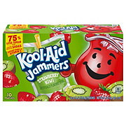 Kool-Aid Jammers Strawberry Kiwi Flavored Drink 6 oz Pouches