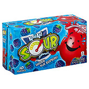 Kool-Aid Sour Shockin' Blue Raspberry 6 oz Pouches