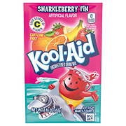Kool-Aid Unsweetened Sharkleberry Fin Drink Mix