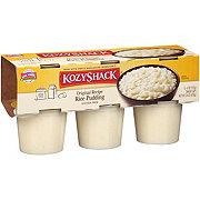 Kozy Shack Original Rice Pudding Snack Cups