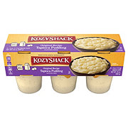 Kozy Shack Original Tapioca Pudding Snack Cups