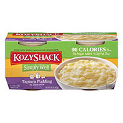 Kozy Shack Simply Well No Sugar Tapioca Pudding Snack Cups
