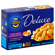 Kraft Deluxe Four Cheese Macaroni and Cheese Dinner