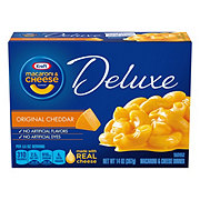 Kraft Deluxe Original Cheddar Macaroni and Cheese Dinner