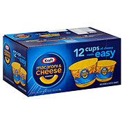 Kraft Easy Mac Original Macaroni and Cheese Cups
