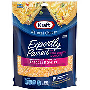 Kraft Expertly Paired Cheddar & Swiss Cheese