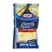 Kraft Expertly Paired Double Cheddar Cheese