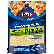 Kraft Expertly Paired Mozzarella and Parmesan Cheese