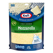 Kraft Finely Shredded Cheese Mozzarella