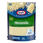 Kraft Low-Moisture Part-Skim Mozzarella Cheese, Shredded