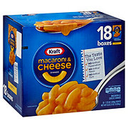 Kraft Macaroni & Cheese Dinner, 18 Boxes