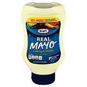 Kraft Mayo Real Mayonnaise Squeeze Bottle