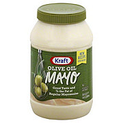 Kraft Mayo Reduced Fat Mayonnaise with Olive Oil