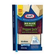 Kraft Natural Big Slice Pepper Jack Cheese