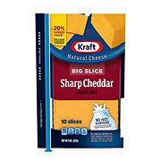 Kraft Natural Big Slice Sharp Cheddar