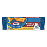 Kraft Natural Extra Sharp Cheddar Cheese