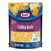 Kraft Natural Finely Shredded Colby and Monterey Jack Cheese
