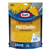 Kraft Natural Finely Shredded Mild Cheddar Cheese