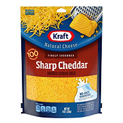 Kraft Natural Finely Shredded Sharp Cheddar Cheese